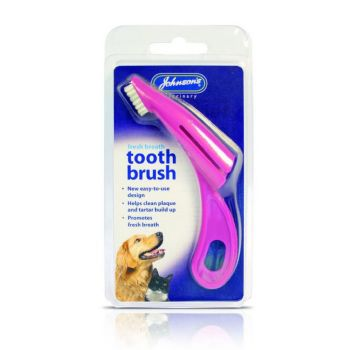 Johnson's Veterinary Toothbrush for Dogs